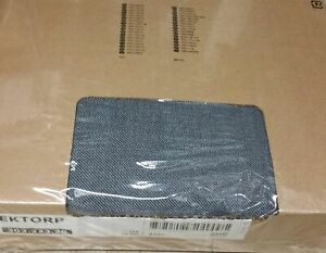 IKEA Ektorp Cover for Loveseat Sofa NORDVALLA DARK GRAY 2 Seat Slipcover Grey