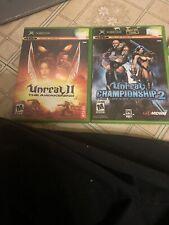 Unreal Tournament 2 Original Xbox Bundle Vintage Lot Antique