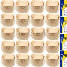 20x 1s Aspirapolvere Sacchetti Per Vax 5120 (23-018) 5130 (20-023) 5140 (25-003) NUOVO
