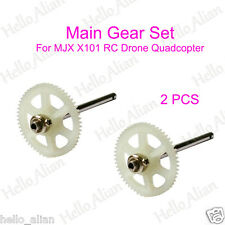 2PCS Main Gear Set  for MJX X101 RC Drone Quadcopter Helicopter Replacement Part