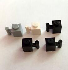 LEGO 30 x Halter 1x1 Clip neues dunkelgrau newdark grey holder with clip 4085