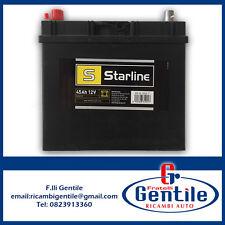 BATTERIA AUTO STARLINE 45AH HONDA CIVIC VII 1.4, 1.6, 2.0 16V DA '01 BASL45JLT