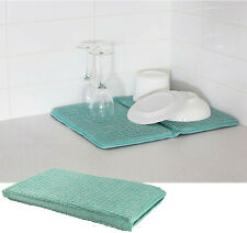 Bambury Duck Egg Deluxe Dish Mat | Super absorbent | Machine Washable