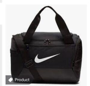 Black Nike Brasilia Gym Bag 25L (extra Small)