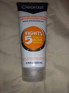 Clearasil Stubborn Acne Control 5 In 1 Exfoliating Wash
