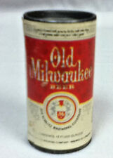 New listing Old Milwaukee beer small plastic can cans 1 back bar display 1975 vintage N8