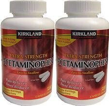 Kirkland Signature Extra Strength Acetaminophen 500 mg 1000 Caplets