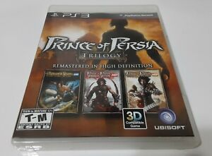 Prince of Persia Classic Trilogy HD - Sony PlayStation 3 PS3 Complete CIB
