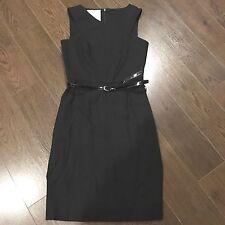 Charles Chang-Lima Women's Sleeveless Sheath Dress - Little Black Dress size 4