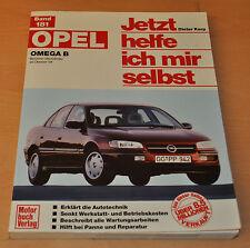 Opel Omega B Kombi + Limo Benziner 4 Zylinder ab 94 Reparaturanleitung JHIMS 181