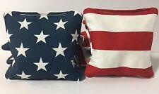 Stars And Stripes Cornhole Bags, Patriotic Cornhole Bags, Flag Cornhole Bags