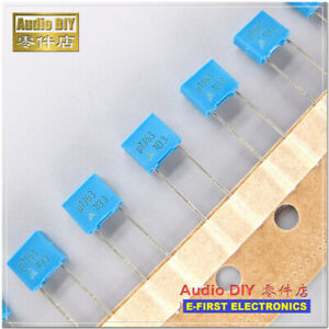 20pcs/200pcs  Siemens EPCOS B32529 Series 0.1uF/63V 5% MKT Film Capacitor 100nF