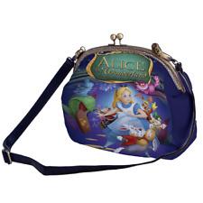 Alice In Wonderland Segeltuch Taschen Spange Rahmen Handtaschen p41 w2003