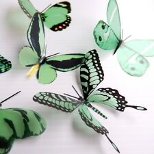 100 Pack Butterflies - Mintgreen - 5 to 6 cm - Cakes, Weddings, Crafts, Cards,