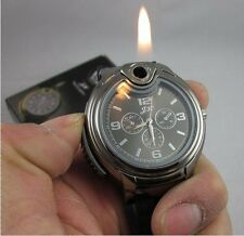 Brand New Novelty Collectible Watch Cigarette Butane Lighter 2 Colors for choose