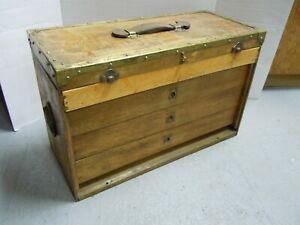 Vintage  Machinist Tool Box Chest