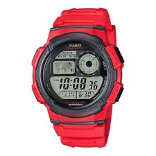 CASIO AE-1000W-4AVDF RED WATCH FOR MEN - COD + FREE SHIPPING