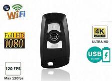 Mini HD 4K SPY Hidden Cam Car Key Chain Camera Ultra HD WiFi 1080P DV recorder