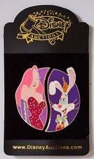 Roger & Jessica Rabbit Friendship Pin Set Disney Auctions LE 500 - 34436