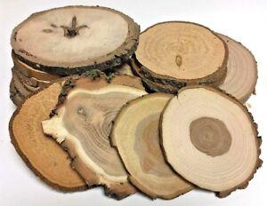 HARTHOLZ Restposten Holzscheiben Astscheiben Baumscheiben Deko 20 St. 10-16 cm