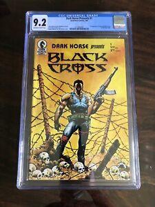 Dark Horse Presents #1 (1986) CGC 9.2 NM / Chris Warner 1st Black Cross Concrete