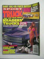 SPORT TRUCK MAGAZINE NOVEMBER 1994 VINTAGE RESTORATION SOURCE GUIDE