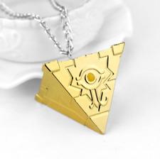YU-GI-OH MILLENIUM Puzzle objet Yugi Muto Cosplay Pendentif en or Collier Yugioh