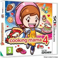 Cooking Mama 4 Nintendo 3DS PAL UK **FREE UK POSTAGE!!** No manual