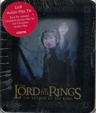 LORD OF THE RINGS  ACTION FLIPZ TIN NEW/SEALED