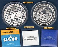 Coffret BE - 1€ 1/2 Argent 2006 Renault Champion du Monde F.I.A 10000 exemplares