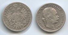 G5646 - Austria 1 Florin 1879 KM#2222 Silver Franz Joseph I.1848-1916 Österreich
