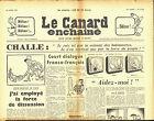 Le CANARD ENCHAINE numero 2114 du 26 avril 1961