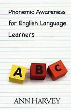 NEW Phonemic Awareness: For English Language Learners by Ann Harvey