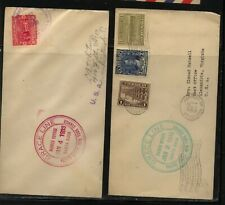 Guatemala and Costa rica Grace line ship covers 1933 Ms0221