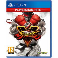Street Fighter V - Ps Hits - Playstation 4 - Juego Físico - Nuevo Precintado