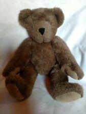 """VERMONT TEDDY BEAR COMPANY classic jointed limbs teddy bear 17"""""""