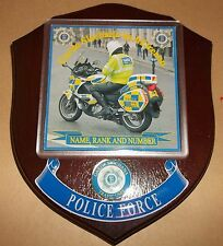 Irish Police/Garda Traffic Control Wall Plaque personalised free of charge.