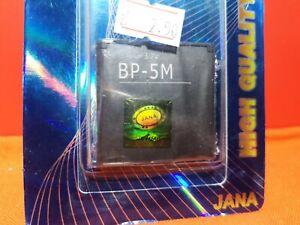 nokia bp-5m battery 7390 6110 6500 8600 5610 5700 6220 900 mah New ( Old Stock )