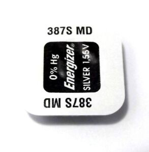 batteria energizer 387s MD pila bulova accutron orologi  batteries con riduzione