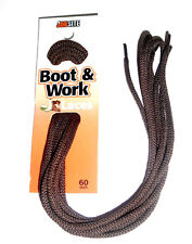 "JobSite Boot Round Work Shoelace 54012 Hiking BROWN 60"" Athletic Shoe Lace 60"