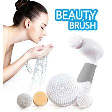 Vibrating Ultrasonic Beauty Brush Waterproof Facial Cleansing Massager