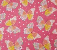Confetti Blossoms BTY Turnowsky Quilting Treasures Floral Packed Pink