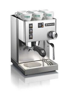 Rancilio Silvia V6 2020 Espresso Coffee Machine / Cappuccino Maker Chrome 220V