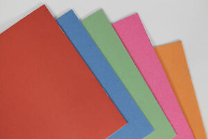 Blank Paper Notebook 32 Page 200x248mm Pack of 25 Mixed Colours