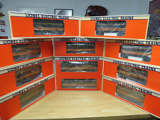 Lionel Illinois Central F-3 ABA Diesels, 6-8580-82 + 8 Passenger Cars - New C-9