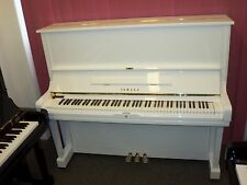 Yamaha U3 - WHITE- Pristine Second Hand Piano