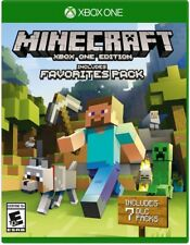 Brand New Microsoft Minecraft: Favorites Pack - Xbox One -Sealed -USA Seller