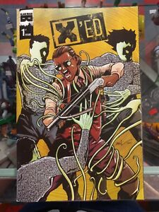 XED #1 JESSE JAMES COMICS EXCEED EXCLUSIVE BLACK MASK COMIC BOOK NM