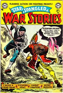 "STAR SPANGLED WAR STORIES #14 GD/VG Grandenetti Star 1953 ""Infantino Collection"""