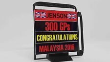 FRG 1/18 Scale F1™ 2016 Jenson Button 300GP Congratulations Model PitBoard